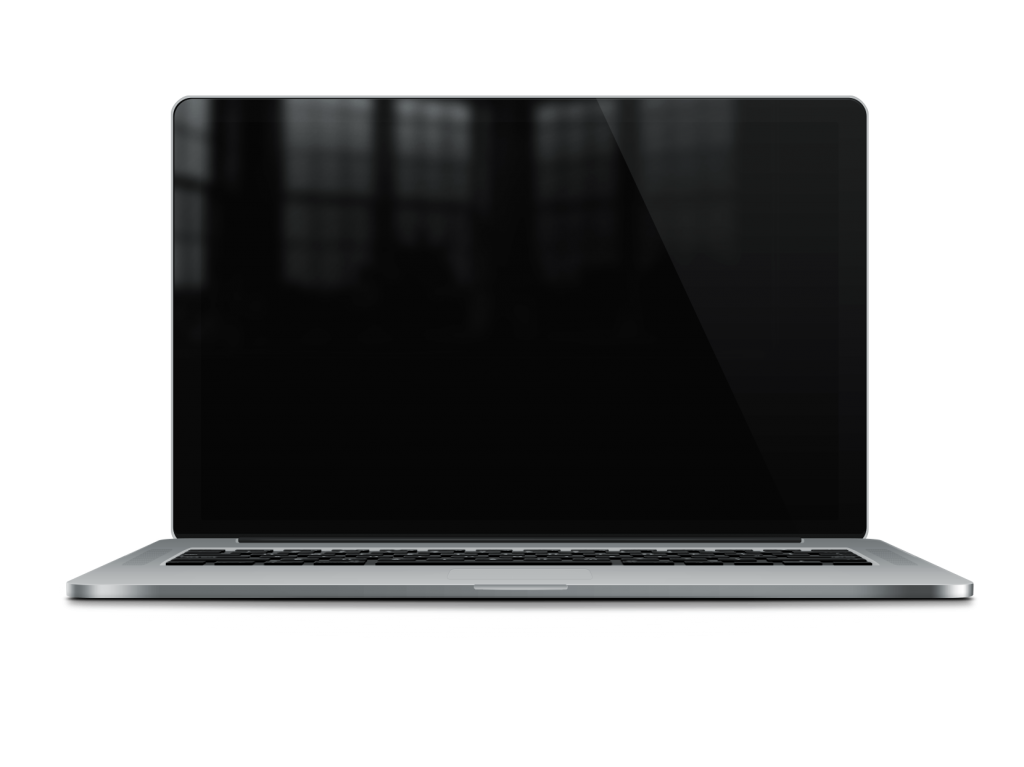 glossy macbook pro retina mockup psd