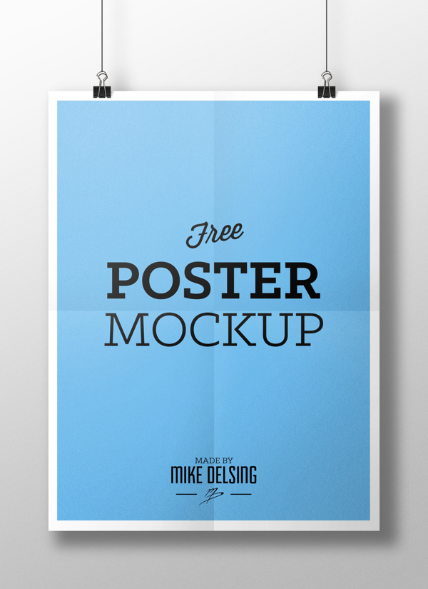 Hanging-Paper-Poster-Mockup-PSD