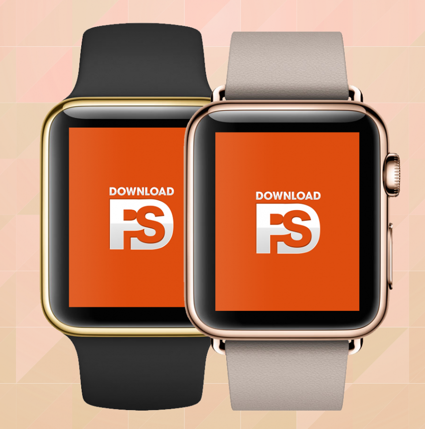 Apple-Watch-Gold-Mockup-PSD