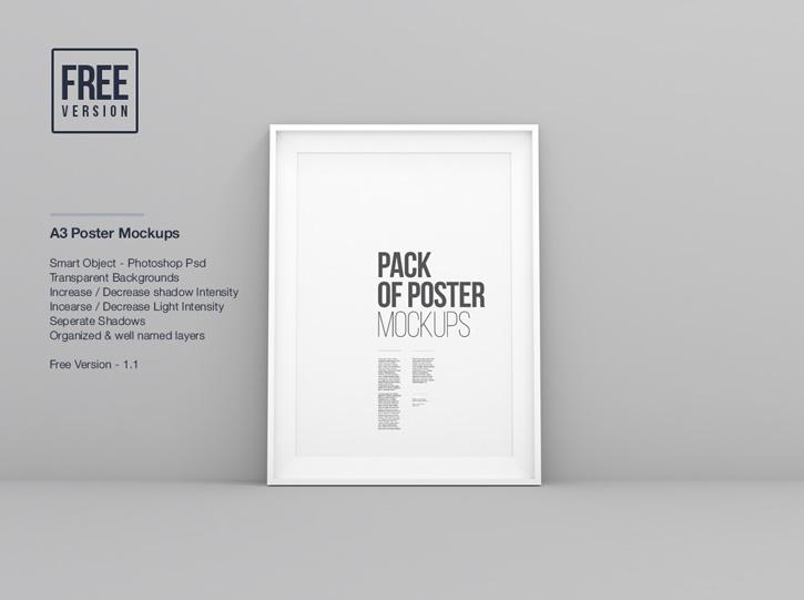 Wall-Poster-Frame-Mockups-PSD
