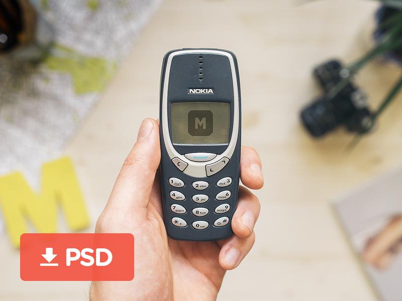 Nokia-3310-Mobile-Phone-Mockup-PSD