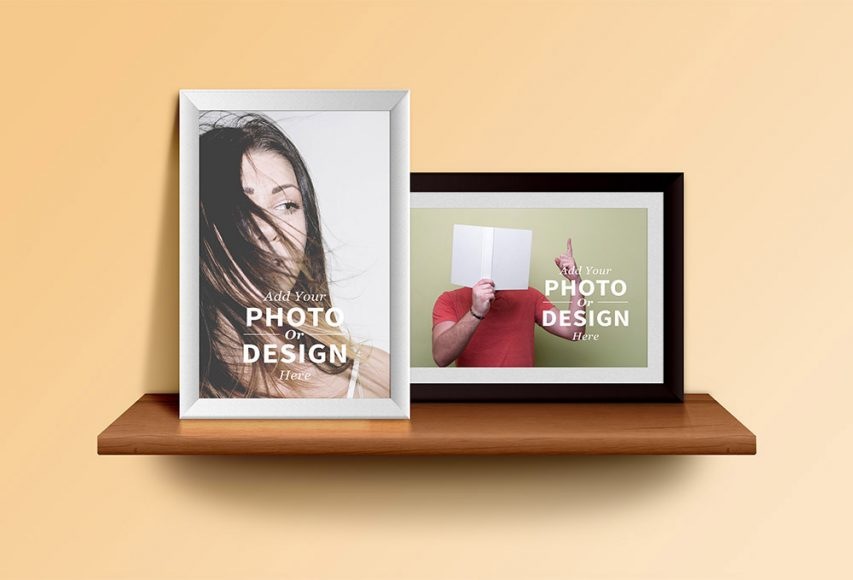 Photo Frames Mockup Free PSD file | Download Mockup
