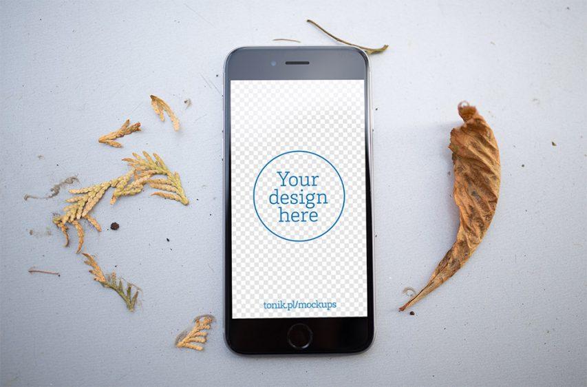 Photorealistic-iPhone-6-Mockups-PSD-Freebie