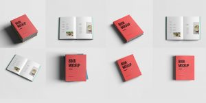 Realistic-Book-Mockup-Template-Pack-Free-PSD-1000x500