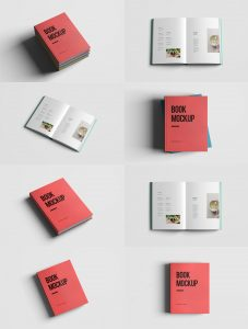 Realistic-Book-Mockup-Template-Pack-Free-PSD