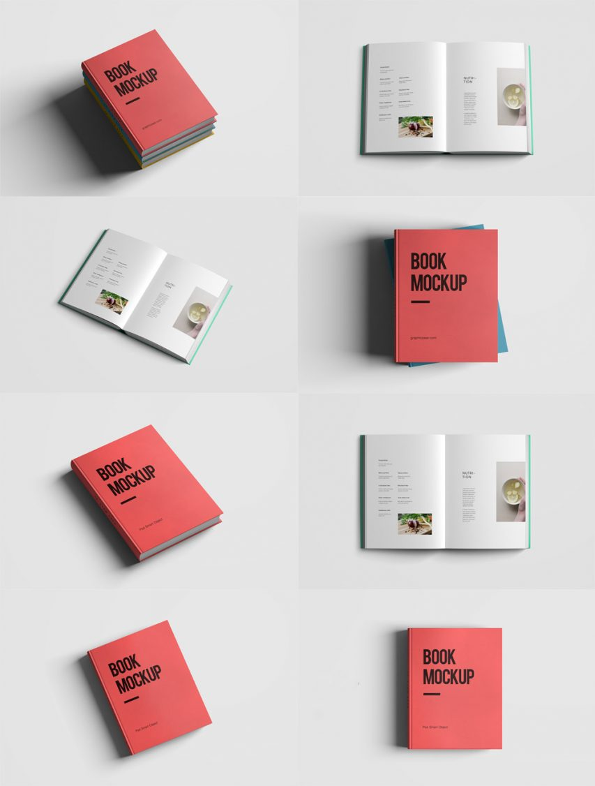 Download realistic book mockup template pack free psd at download realistic book mockup template pack free psd at downloadmockup download free mockups pronofoot35fo Choice Image