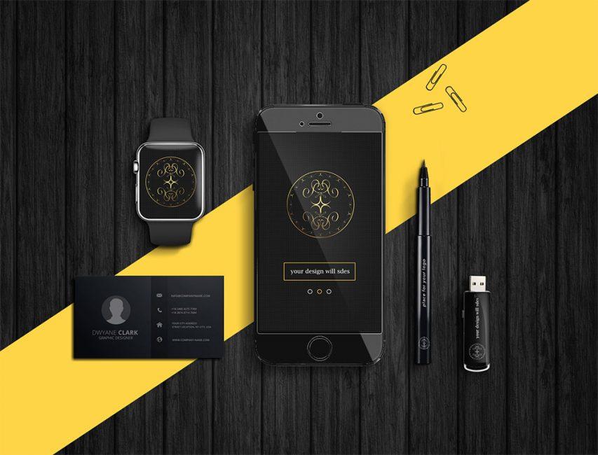 Dark-Product-Branding-Mockups-Free-PSD