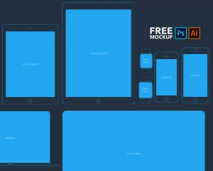 Flat-Style-Apple-Devices-Mockups-Free-PSD