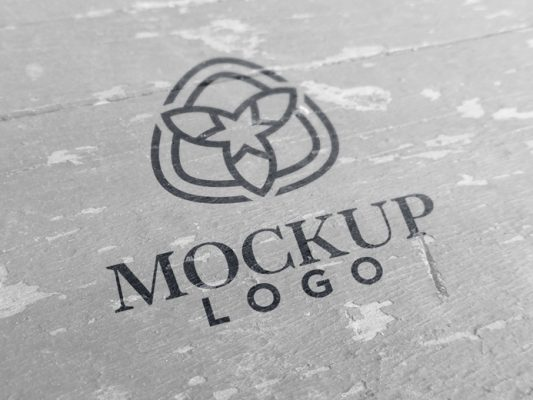 Logo Presentation Mockup Free PSD