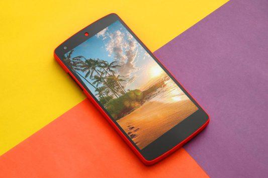Nexus 5 Mockup Free PSD