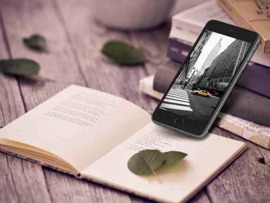 Photorealistic Iphone 6 Plus Mockup Free PSD