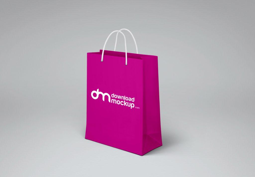Shopping Paper Bag Design Mockup Free Psd Download Mockup