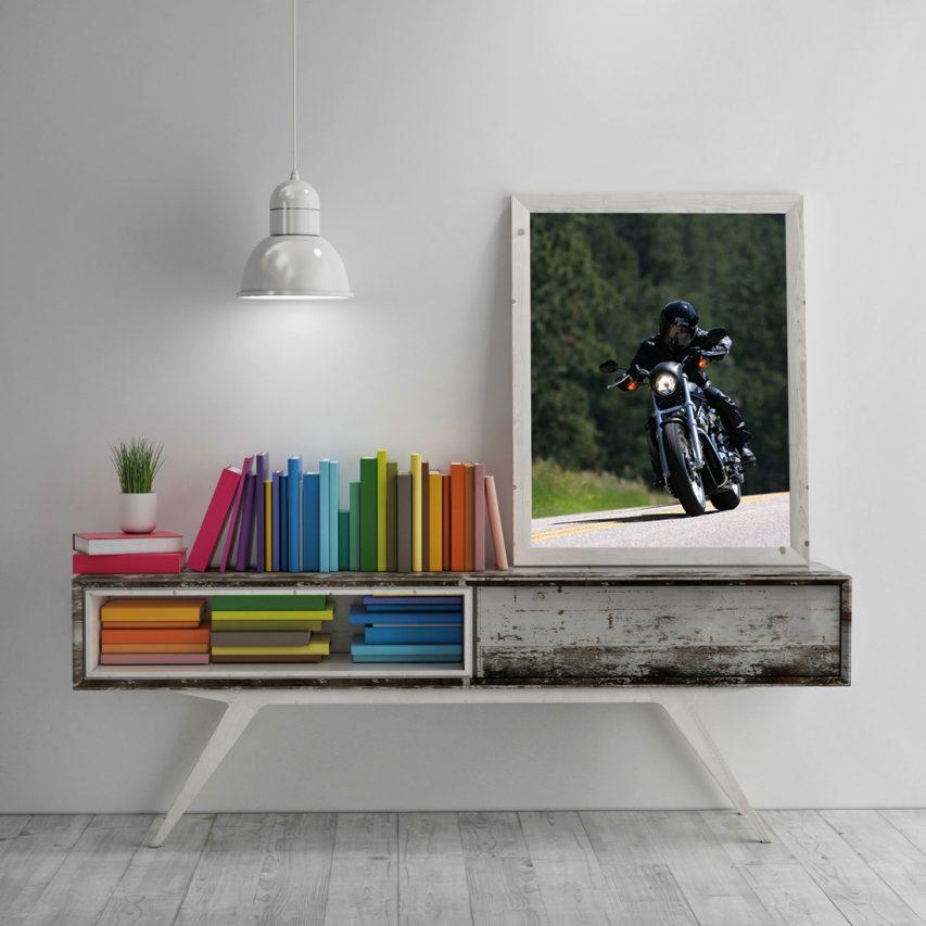 Wooden Frame Mockup Free PSD