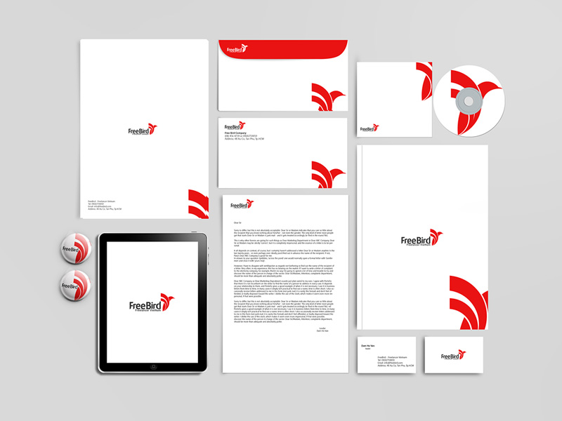 Corporate Branding Mockup Set Free PSD