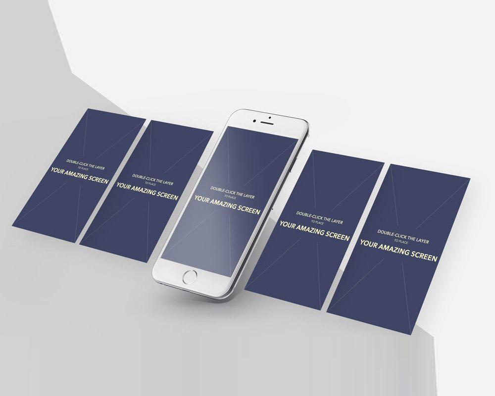 Download iPhone App Screens Mockup PSD at DownloadMockup.com ...