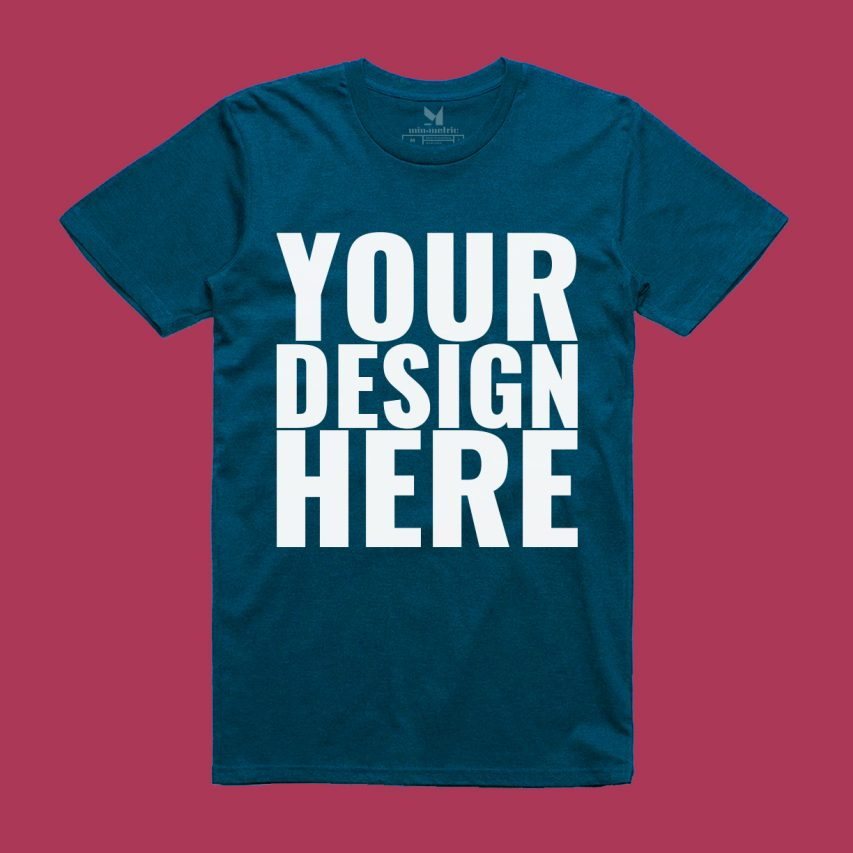 Realistic T Shirt Mockup PSD Download Mockup