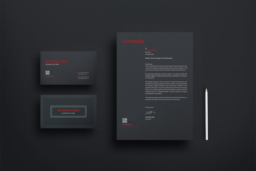 Download Business Card and Letterhead Mockup Free PSD at ...