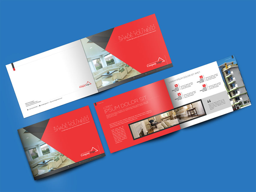 Download Landscape Brochure Mockup Psd At DownloadmockupCom