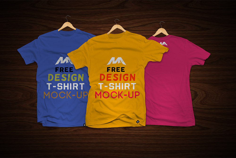TShirt Front and Back Mockup Free