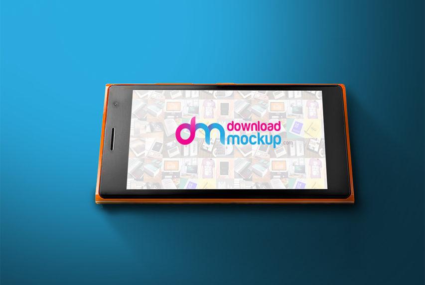 Windows Phone Mockup Free PSD