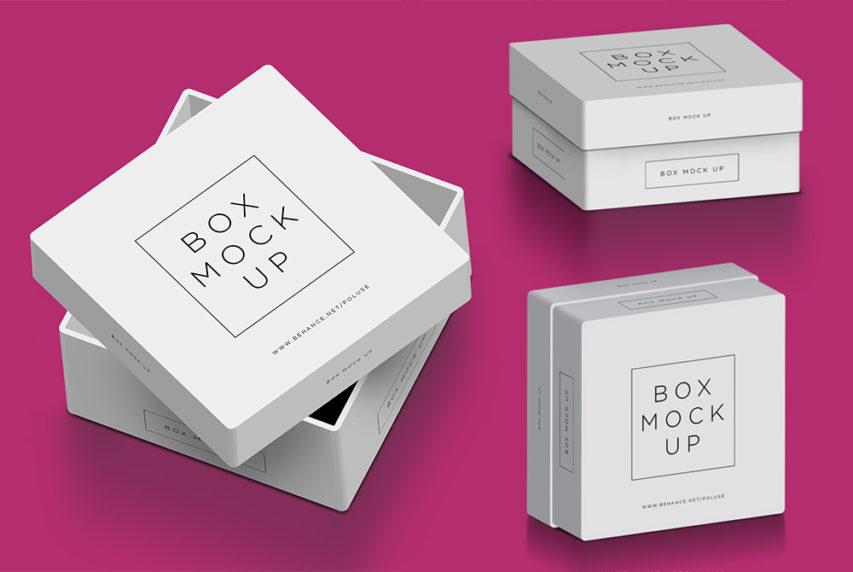 Box Mockup Free PSD