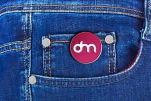 Enamel Pin Mockup Free PSD