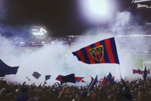 Football Soccer Flag Mockup PSD