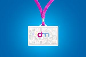 ID Card Holder Mockup Free PSD