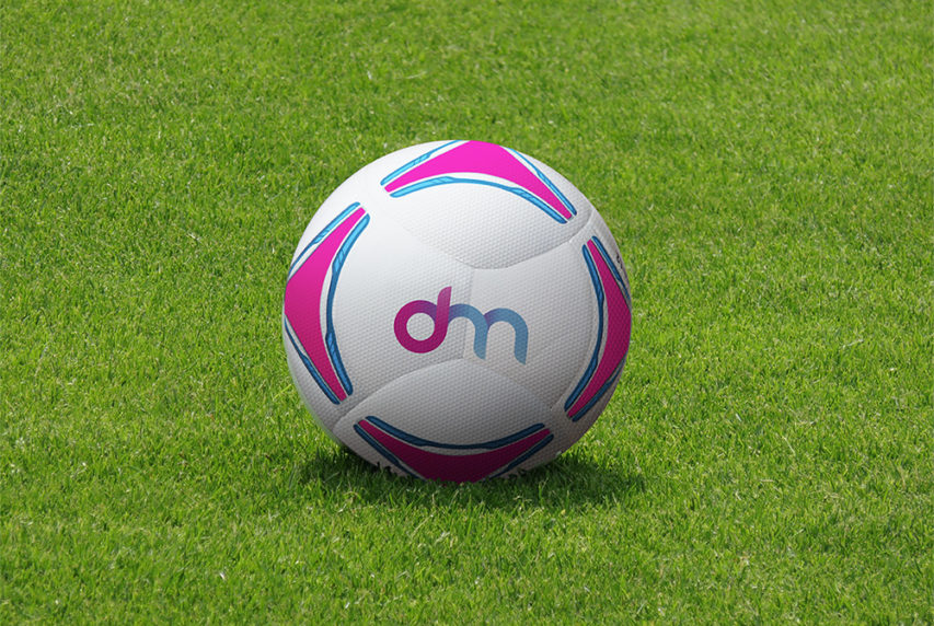 Football & Soccer Ball Mockup Free PSD