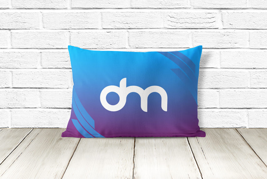Pillow Mockup Template Free PSD
