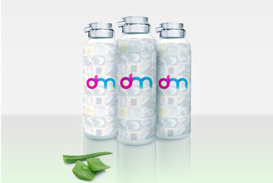 Cosmetic Bottle Packaging Mockup Free PSD