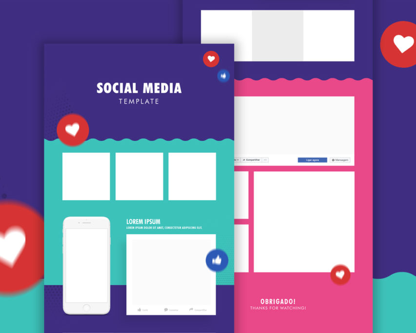 social media template psd koni polycode co