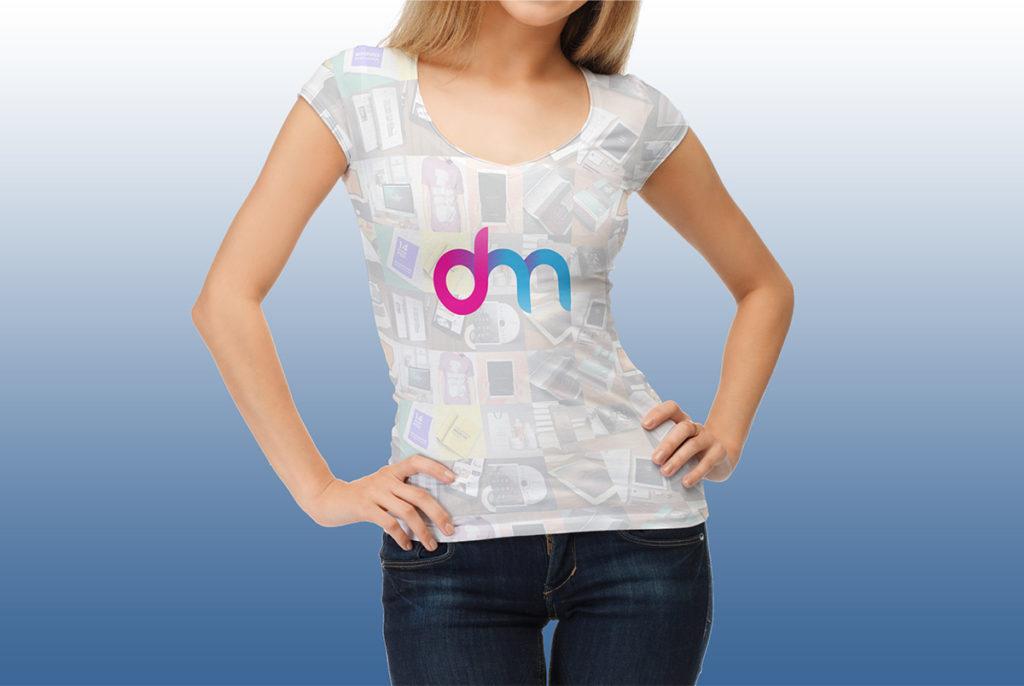 Download women t shirt mockup template psd at for Woman t shirt mockup