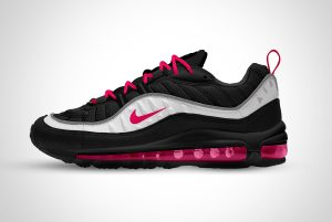 Nike Air Max Sports Shoes Mockup PSD