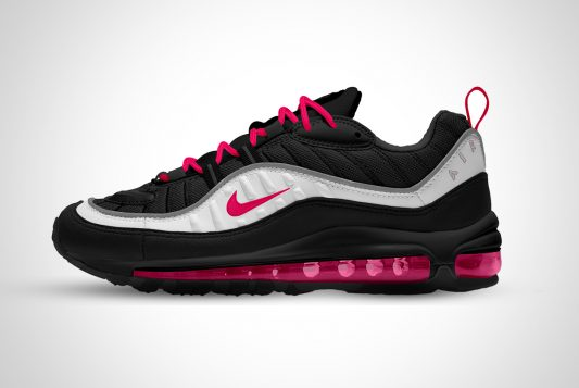 Nike Air Max Sports Shoes Mockup PSD
