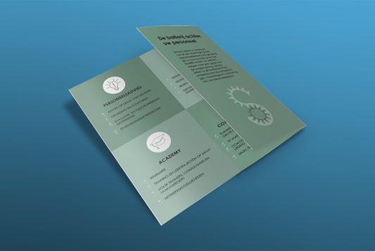 Trifold Brochure Mockup Template PSD