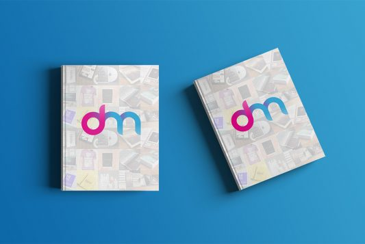 Free Hardcover Book Mockup PSD