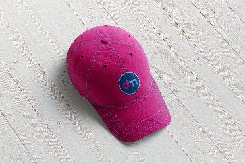 Baseball Cap Mockup PSD