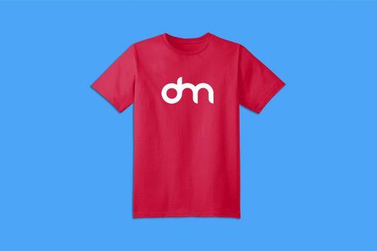Men T-Shirt Mockup Template