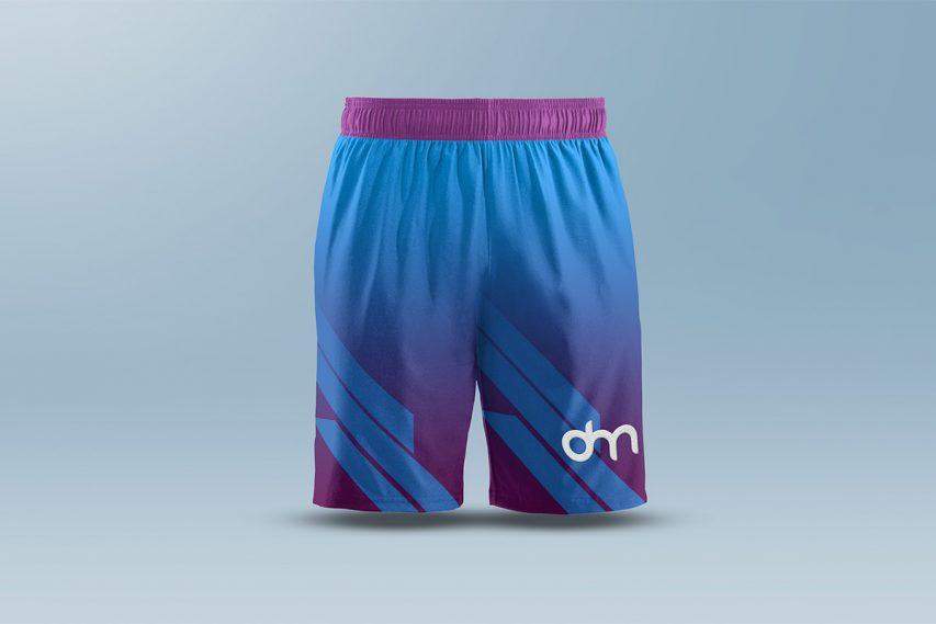 Men's Shorts Mockup Template