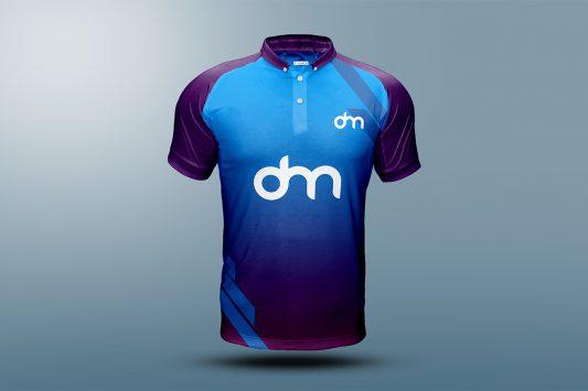 Free Sports T-Shirt Mockup PSD