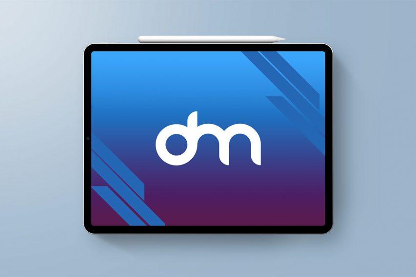 Free iPad Pro 2018 Mockup PSD
