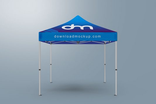 Canopy Pop-Up Tent Mockup
