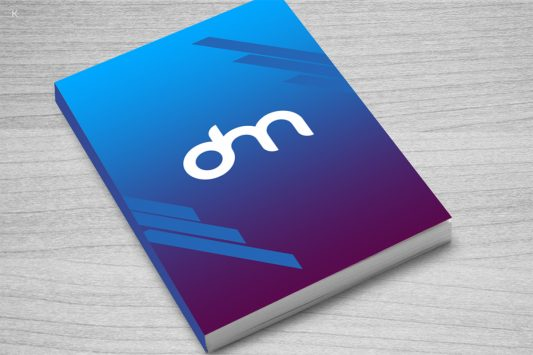 Free Book Cover Mockup Template