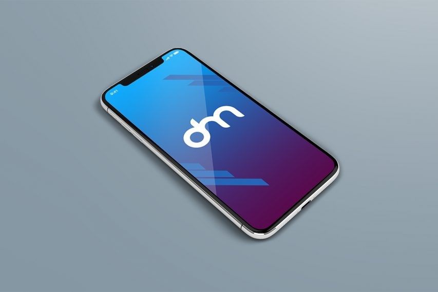 Free iPhone X PSD Mockup