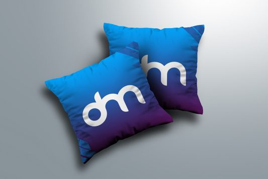 Free Pillow Mockup Template