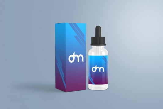 Dropper Bottle Packaging Mockup
