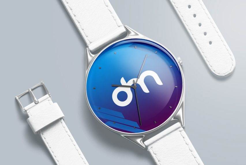 Wrist Watch Mockup PSD Template