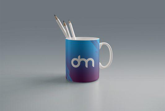 Free Coffee Mug Branding Mockup