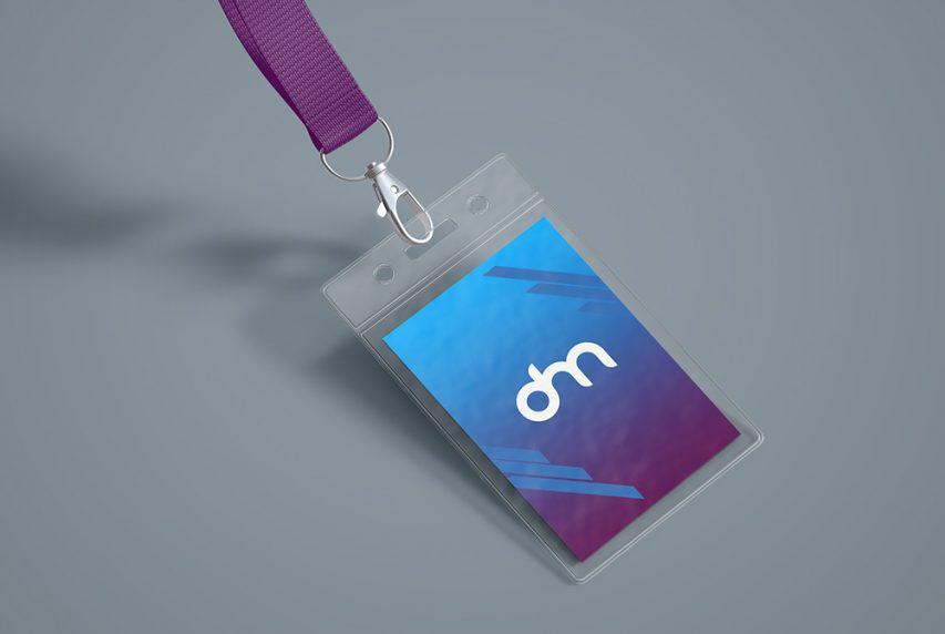ID Card Holder Mockup | Download Mockup